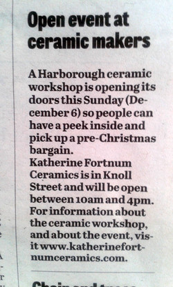 'Open Event at Ceramic Makers'