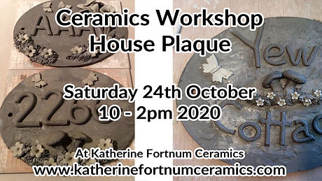 house plaque group workshop, 24th octobe