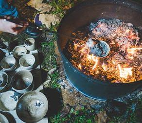 Kiln Firing Method - Raku Firing