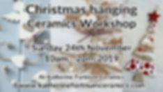 christmas hanging, 24th November 2019, a