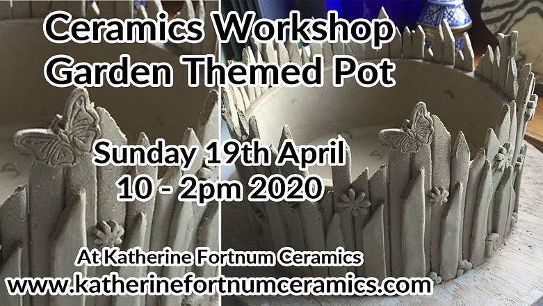 garden themed pot group workshop, 19th a