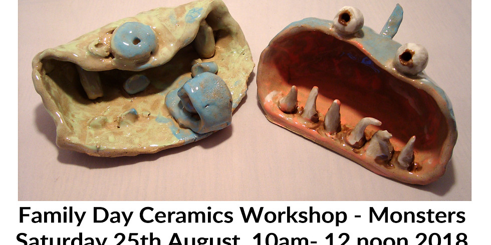 Family Day Ceramics Workshop - Monsters