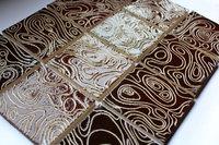 Ceramic tile splash back, chocolate brow