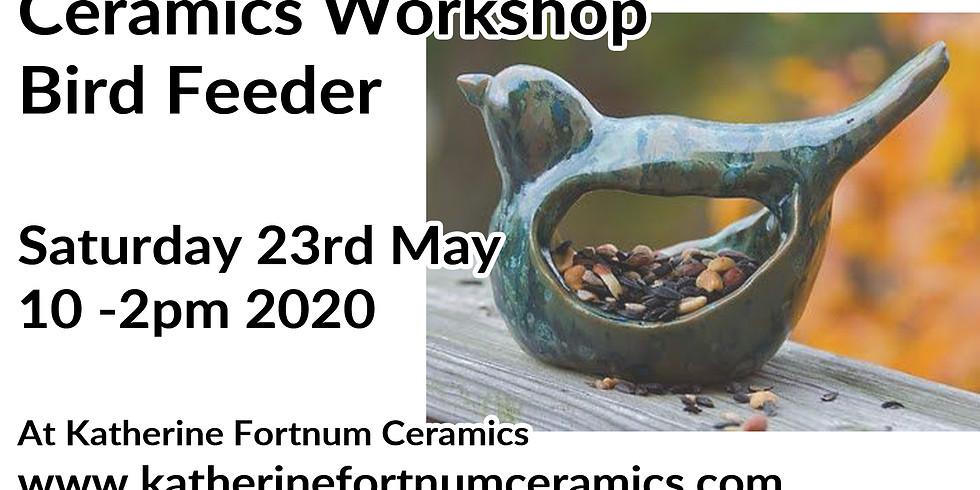 Bird feeder ceramics workshop