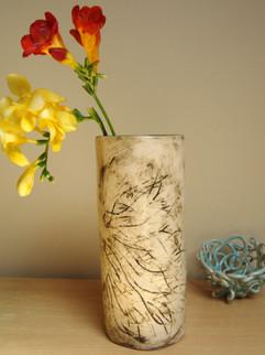 large brown natural carve vase (1).JPG