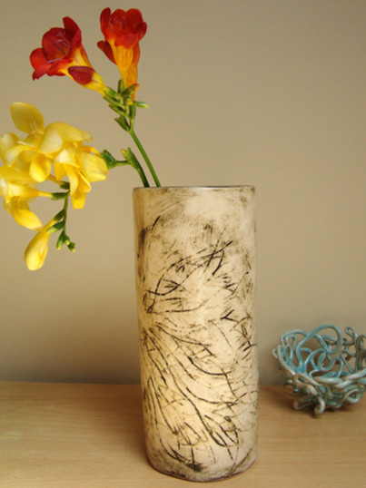 large brown natural carve vase (1).JPG