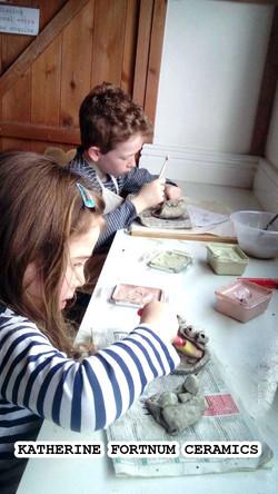 Unusual creatures ceramics workshop