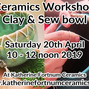 2019 Ceramics Workshops & Courses