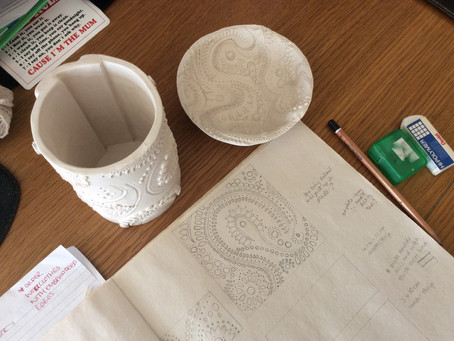 A month in the life of a ceramicist #1