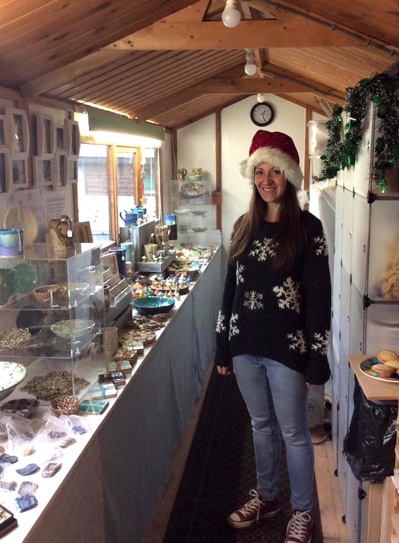 Katherine Fortnum Ceramics Christmas open studio 2018