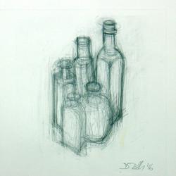 Still Life With Edwardian Bottles