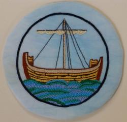 Cinque Port ship    Aspects of Stitch