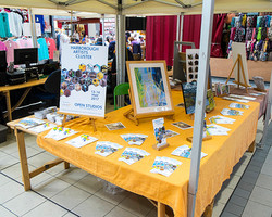 HAC Artists Day 2017 Market Stall