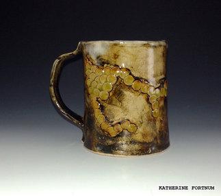 Mug 3, white stoneware, by Katherine Fortnum 2016, photograph by Katherine Fortnum