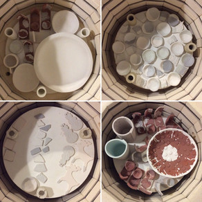 A month in the life of a ceramicist - November 2019