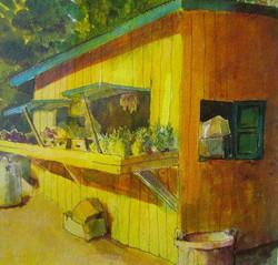 Antiguan Food Stall