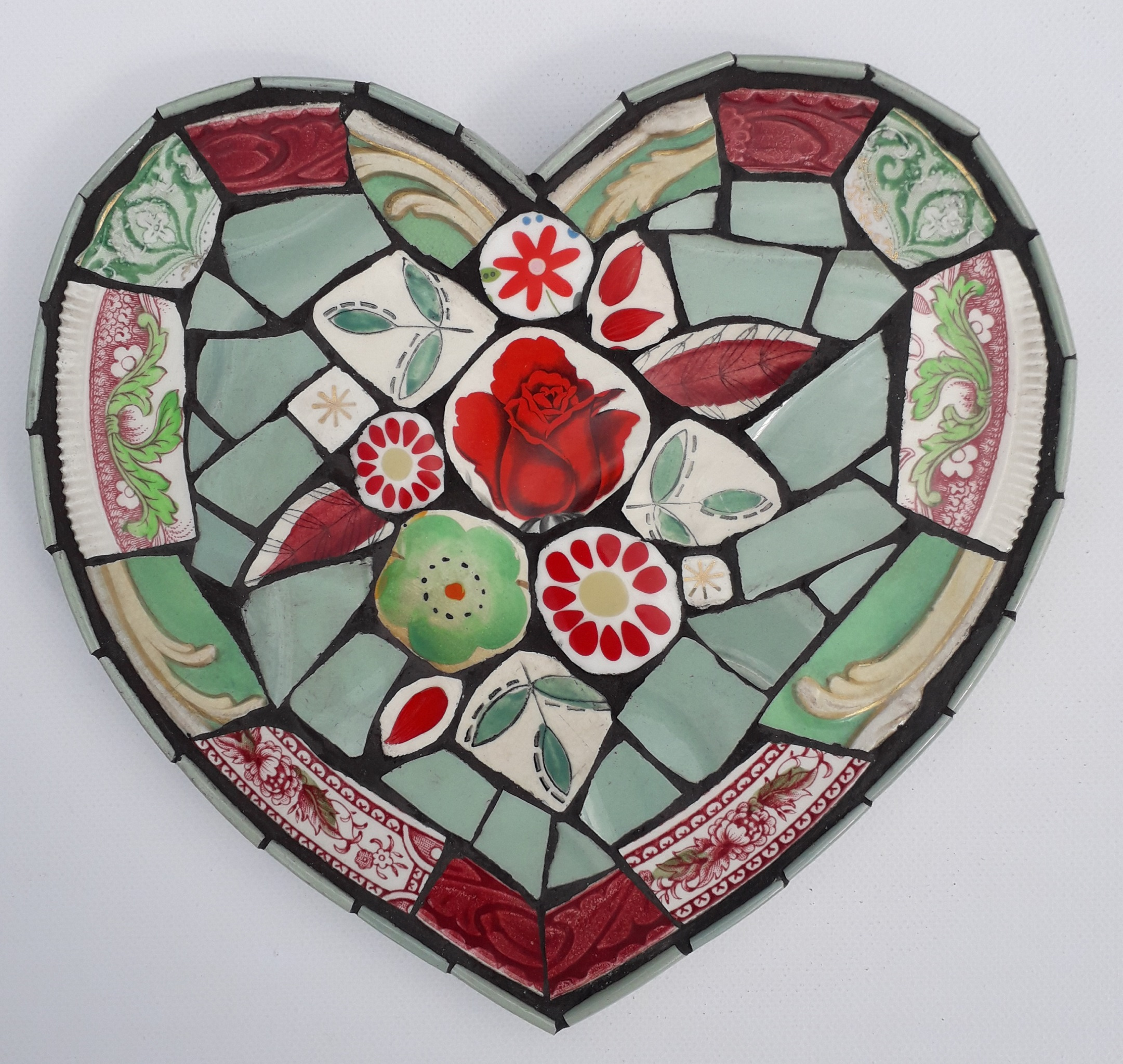 Kelly Gardner, Red & Green Heart