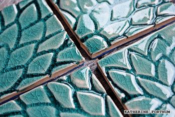 Close up glaze detail