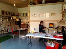 Victoria keskeys open studio 2017