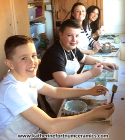Ceramics family day Workshop