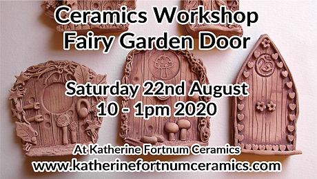 fairy garden group workshop, 22nd august