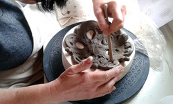 Decorative coiling workshop