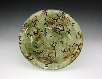 Fruit bowl, White Stoneware, by Katherine Fortnum, photograph by Katherine Fortnum