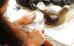 Bird feeder workshop - at Katherine Fortnum Ceramics