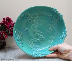Fruit bowl aqua natural