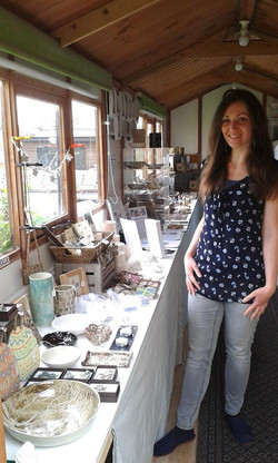 Katherine Fortnum Ceramics, open studio 12th and 13th May 2018