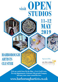 Artists Cluster open studio poster 2019.