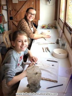 Mum and daughter workshop
