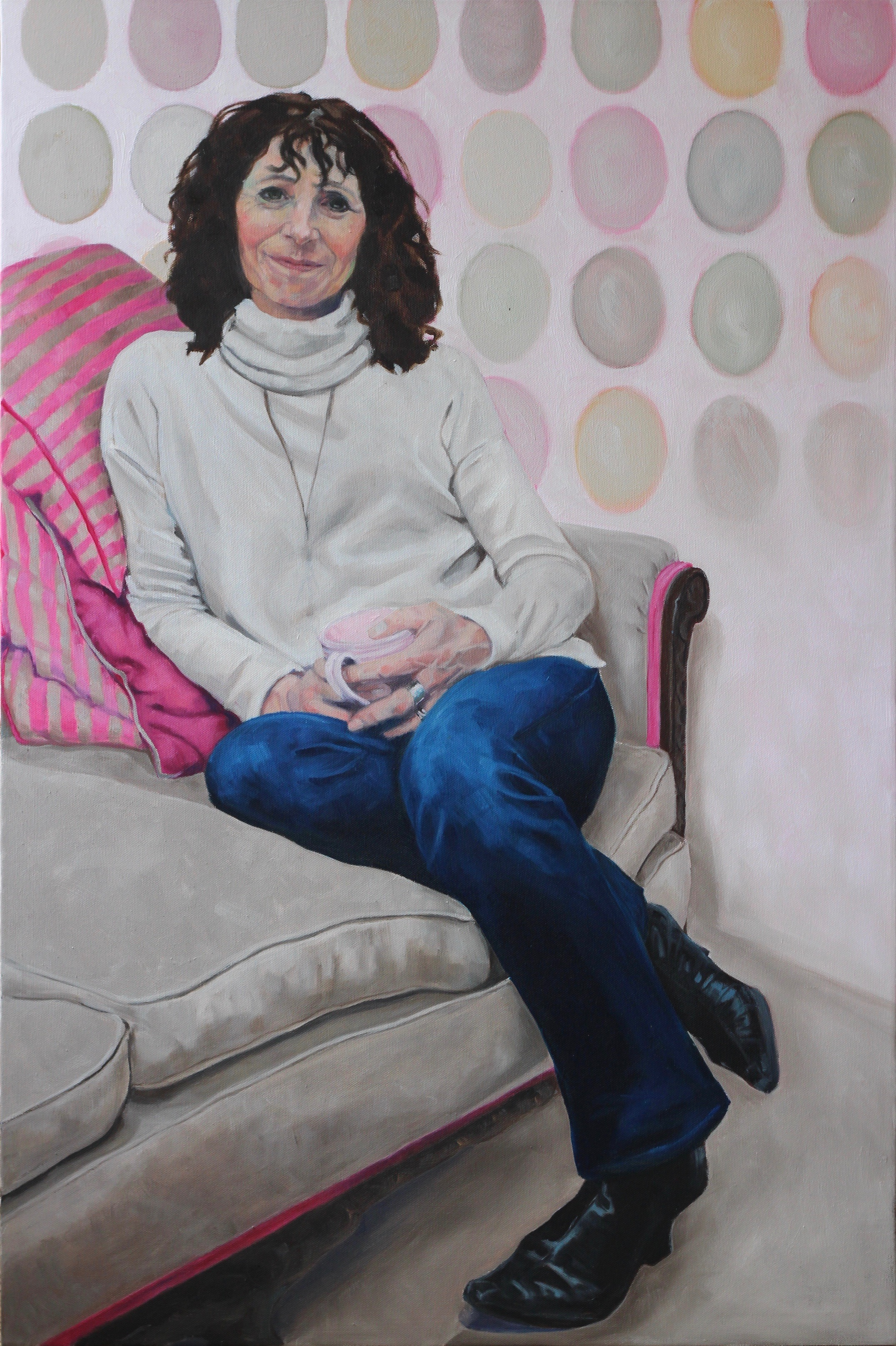 Emma - Oil on canvas 24 x 36in Alex Coop