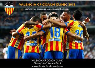 Torino: arriva il Valencia CF Coach Clinic!