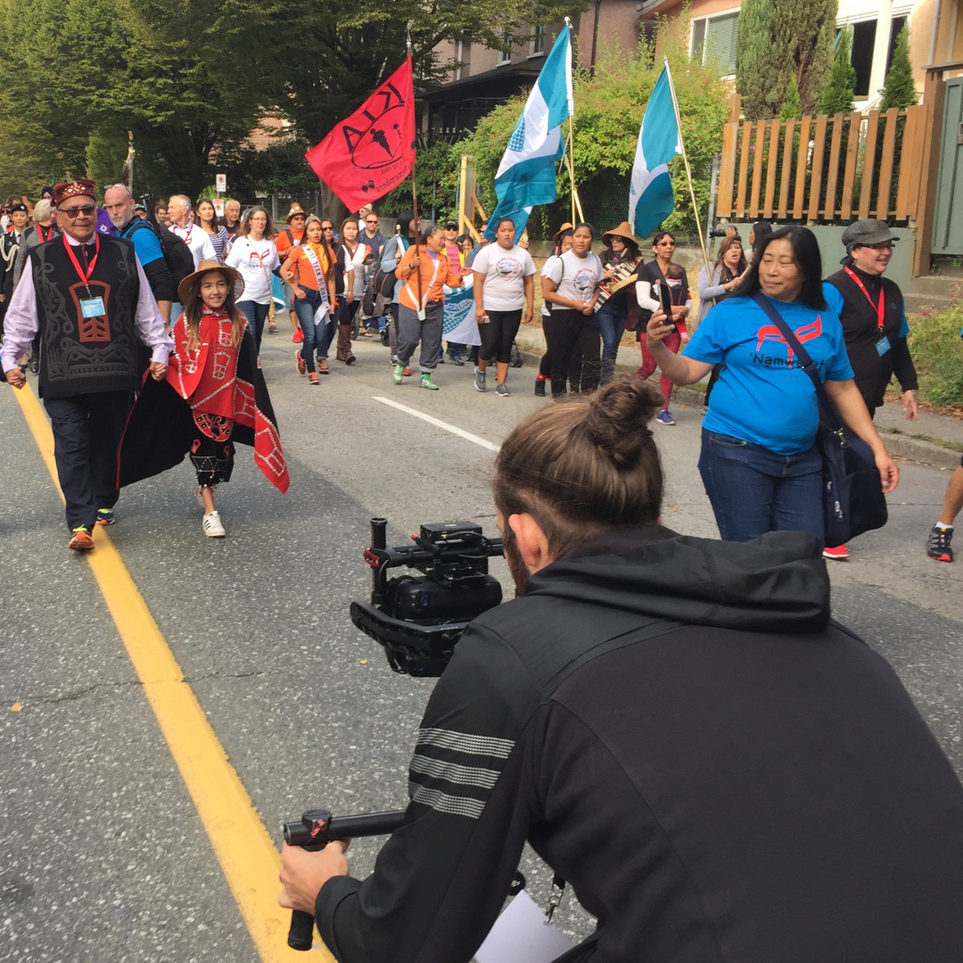 Connor at Walk for Reconciliation 2017