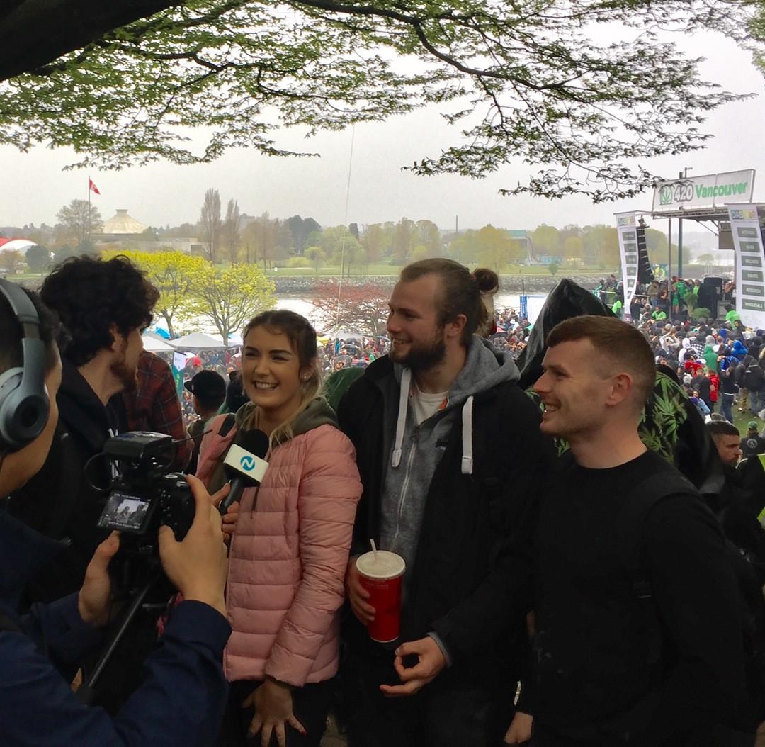 Irish crew at 420