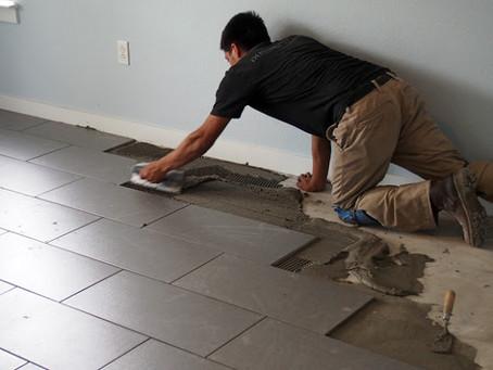 Tile: Installation, Days 2-4