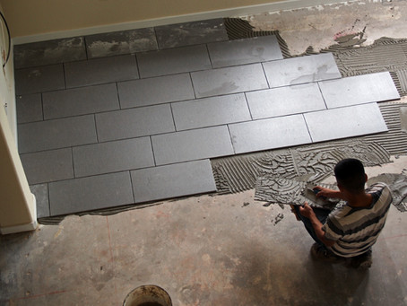 Tile: Installation, Day 1