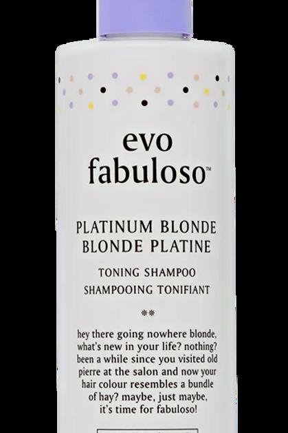 EVO Fabuloso Platinum Blonde Shampoo