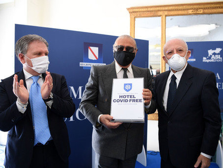 Il Governatore De Luca proclama ufficialmente Ischia Covid Free
