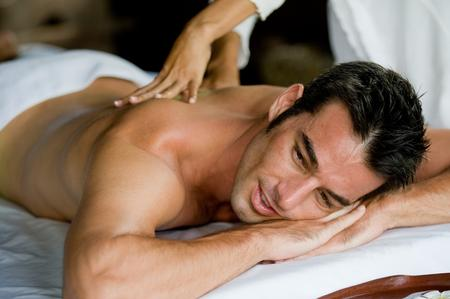 massaggio antistress uomo