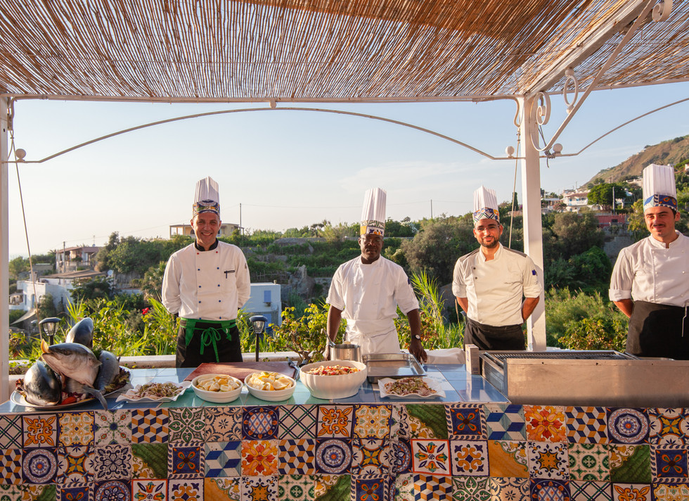 Show Cooking Paradiso Terme Resort & SPA **** Ischia