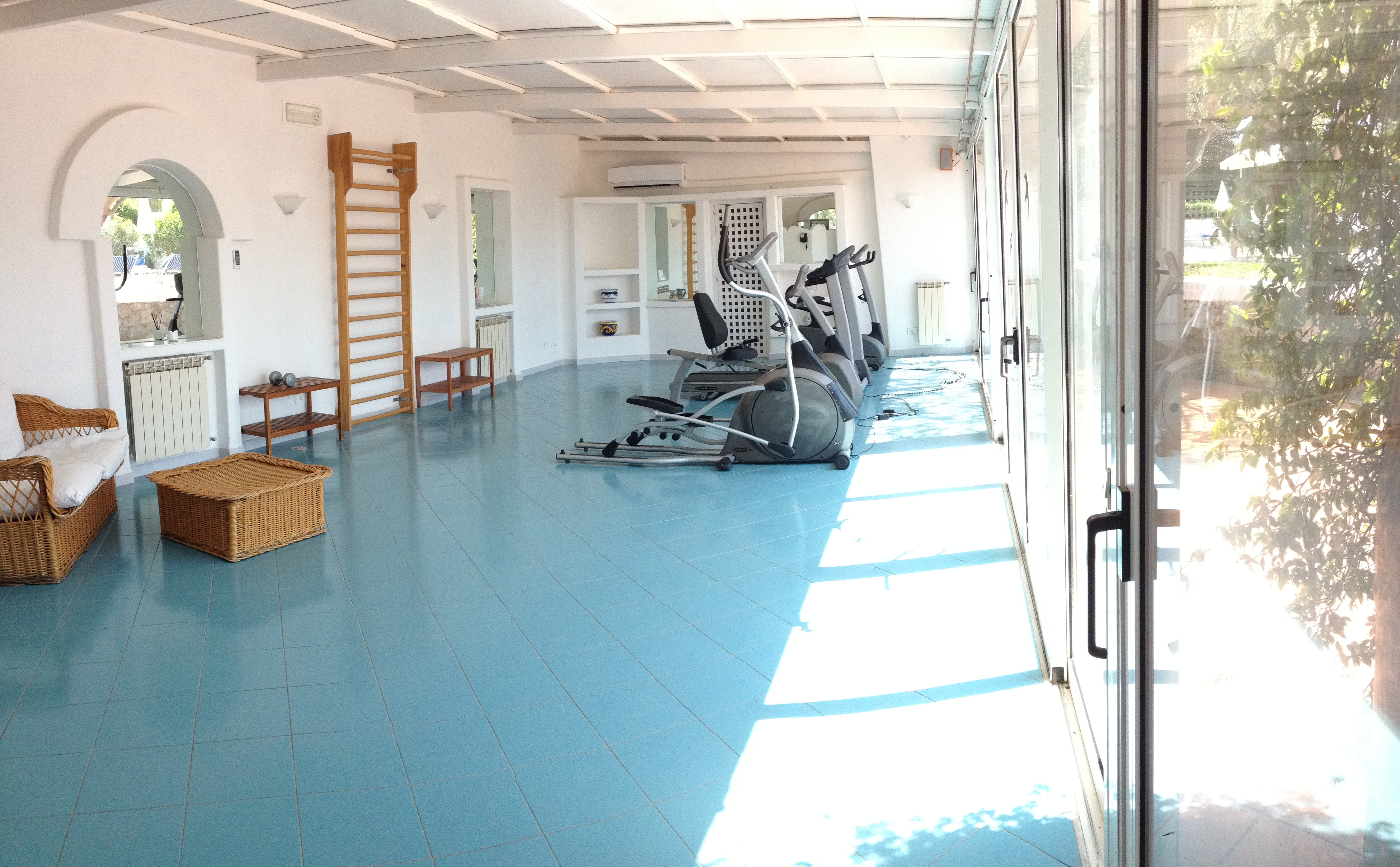 Klimatisierte Fitness Raum