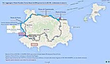 Ischia mappa in pdf per raggiungere il Paradiso