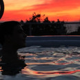 Enjoy our daily Sunset from the pool