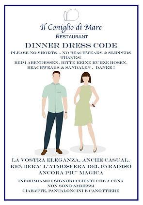 Restaurant Dress code