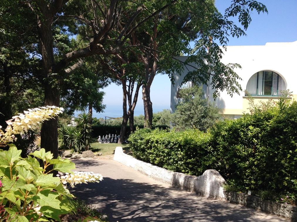 Das Hotel und das Meer