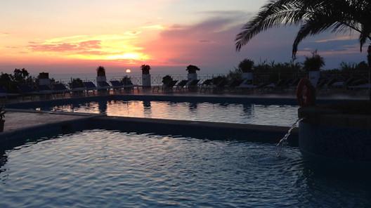 Ischia Hotel Paradiso Terme Sonnenurtengang