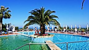 Piscine hotel paradiso terme ischia