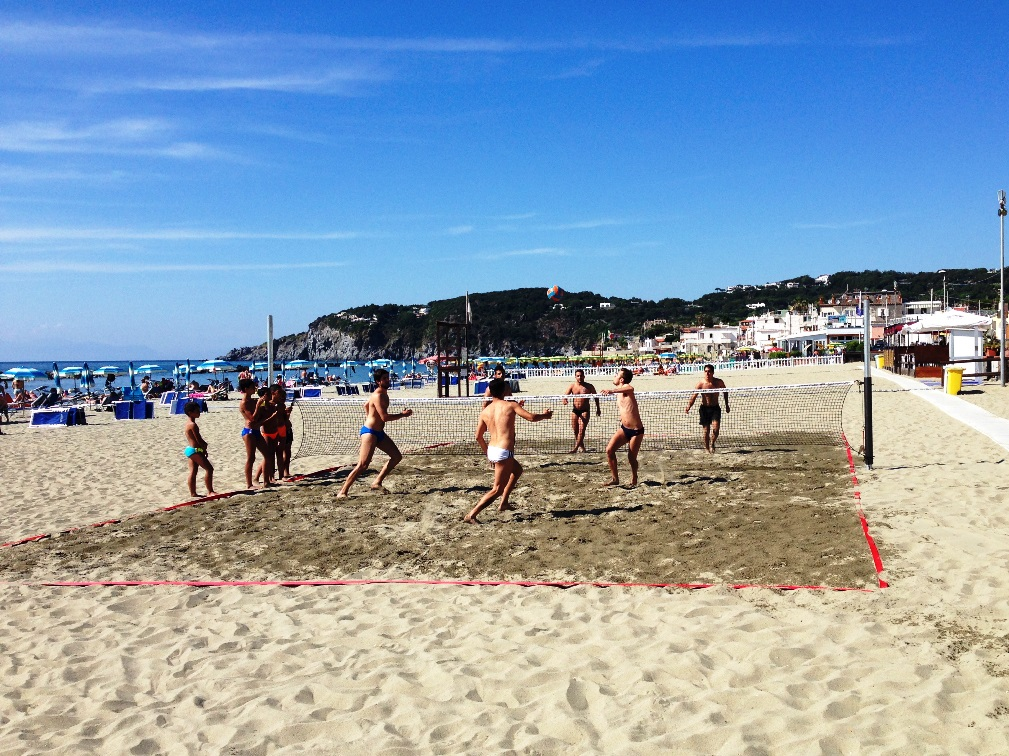 FORIO - Beach Volley am Strand